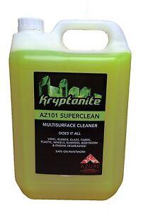 Kryptonite AZ G101 Super Clean Professional Strength Multi Purpose Cleaner - 5L