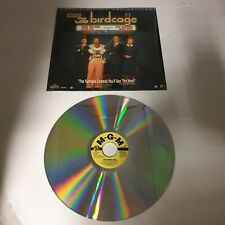Retro Laser Disc Movies x 3 Stargate Get Shorty The Birdcage USED  (R1)