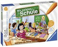 Ravensburger tiptoi Wir spielen Schule - 00733 / Erlebe interaktiv einen komplet