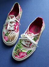 932753be856c67 VANS Canvas Floral Shoes for Women
