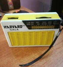 HARVARD GALA Transistor radio LW/MW Pocket Radio vintage
