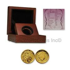 Niue 2015 Disney Aurora $25 Gold Proof Coin with Box & COA SKU# 7670