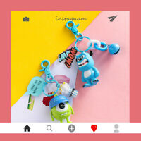 Keyring Monster Mike Sulley Cute Cartoon Keychain