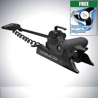 BLACK 12v 55 Lbs Variable Speed Bow Mount Trolling Motor Electric Trolling Motor