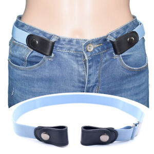 Buckle-Free Invisible Elastic Waist Belts Easy Belt For Women men Invisible B Fs