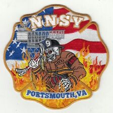 Virginia Portsmouth Norfolk Naval Ship Yard NNSY Patch
