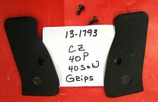 CZ FACTORY GRIP SET WITH SCREWS 40 CALIBER REMOVED FROM WORKING PISTOL