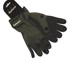 NEW Barbour Mens Neoprene Warm Shooting Gloves Size Medium 7 - 7 1/2