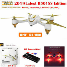 Hubsan X4 H501S Quadcopter 1080P 5.8G FPV GPS Follow Me Brushless RTH Drone BNF