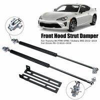 2X Front Hood Bonnet Gas Strut Lift Support Kit For Toyota 86 FT86 GT86