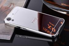 Aluminum Metal Frame Mirror Back Cover Slim Case For HTC Desire 820 826 626 S001