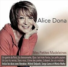 Mes Petites Madeleines by Alice Dona (CD, Feb-2013, Sony Import)