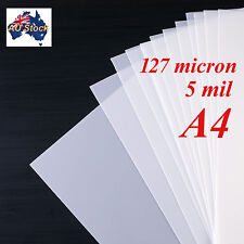 Stencil Film 10 sheets A4 Mylar: 127 micron for Airbrushing, Painting and Craft