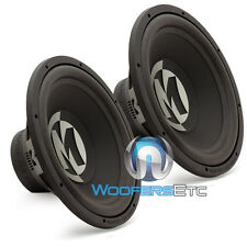 "2 MEMPHIS PR15S4V2 CAR SUBS 15"" SVC 1000 W LOUD PRO BASS SUBWOOFERS SPEAKERS NEW"