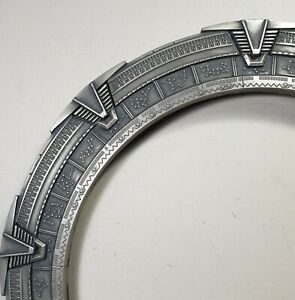Stargate Atlantis Glyths Gate Ring Art Prop Replica Collectable toy SC