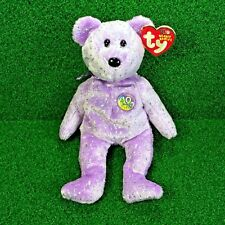 Ty Beanie Baby Decade The Bear Purple Edition 10 Year Bear MWNMT - FREE Shipping