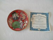 Coca-Cola Days Calendar Plate COKE #4 Bradford Exchange APRIL Ships Free!!!!