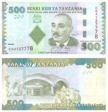Tanzania 500 Shillings 2010 P-40 Banknotes UNC