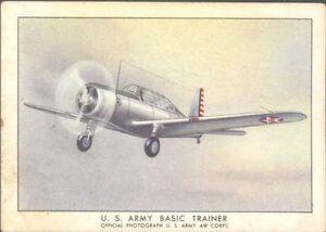 Brown & Williamson - Modern American Airplanes, Series C - 23 - Basic Trainer
