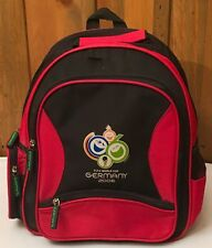 f9f46ae39e Backpack FIFA World Cup 2006 Hosted by Germany Soccer   Football Red  SouvenirC-3