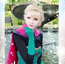 GL1 movie Frozen Elsa Custom Cosplay Costume Snow Queen Anime gloves coronation