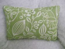 Copridivano verde Floreale 100% Cotone