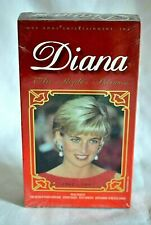 Diana The People's Princess VHS 1961-1997 New Sealed