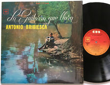 Antonio Bribiesca - La Guitarra Que Llora LP CBS Mexico