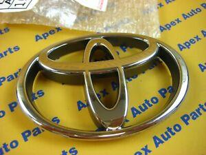 Toyota 4Runner T100 Tacoma Pickup Truck Front Grill Emblem Genuine OEM Chrome