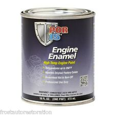 Por15 Chevrolet Chevy Red Engine Enamel Paint 473ml Rich Colour Pigment Por 15