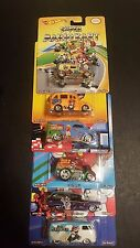 6 HOT WHEELS POP CULTURE SUPER MARIO LOT SET OF 6 SAVE 5% WORLDWIDE FAST