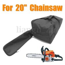 Black 20'' Chainsaw Carry Case Cover Chain Saw Bag Bar for Stihl for Husqvarna