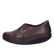 womens shoes MBT 5,5 (EU 39) slip on brown leather AC560-E