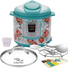 Instant Pot Pioneer Woman LUX60 Vintage Floral 6 Qt 6-in-1 Multi-Use Programmabl