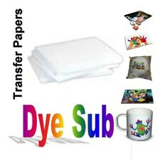 """100 Sheets A (8.5"""" x 11"""") Sublimation Transfer Paper for Specialty Printing"""
