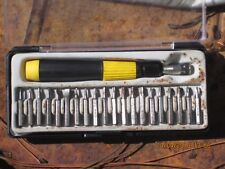 Mini screw driver set, 20 pieces