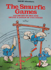 Smurfic Games Smurf of One Smurf a Dozen of the Other Vintage 1975 Comic