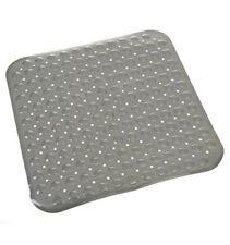Tapis fond de douche anti-dérapant Gris 100% PVC Sécurité Confort    PROMO