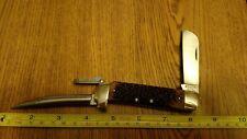 Vintage SCHRADE U.S.A. 735 S.S. MARINER RIGGING KNIFE ROPE BLADE & MARLIN SPIKE
