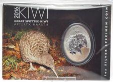 1 Dollar 2016 - Neuseeland - Great Spotted Kiwi - 1 oz Ag