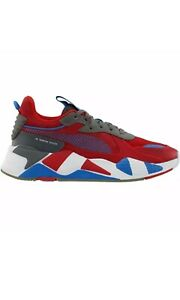 Puma RS-X Retro (Big Kids) Size 5.5 Red/White/Blue Sneakers Casual 372857-01