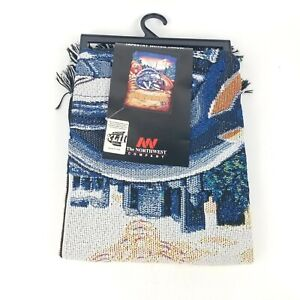 """Chicago Bears Tapestry Throw Blanket 48"""" x 60 The Northwest Company NFL New"""