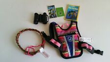 American Girl Doll Lot Lea's Accessories w/ Binoculas Braided Headband Backpack