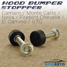 Fits Chevelle Hood Bumper Stopper El Camino GTO Nova Camaro Buick Chevrolet
