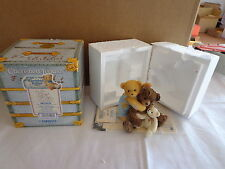 Cherished Teddies By Enesco SAWYER & FRIENDS Hold On To The Past NEW 662003F