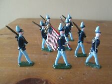 Antique Lead Flat Union ACW Metal soldiers 1/32 Toy Soldiers