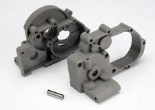 Traxxas Part 3691A Gearbox halves L&R grey Idler Rustler New in package