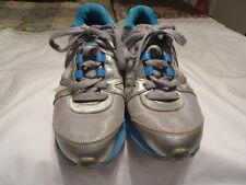 Nike Reax Rocket Sneakers Aqua/Silver/Gray Leather/Mesh Sz. 6M