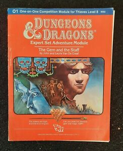 Dungeons And Dragons The Gem & The Staff 1983 Module