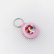 Vauxhall porte-clés en cuir rose officiel produit sous licence Richbrook CORSA ASTRA